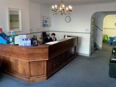 Old Oak Dental Practise - Reception